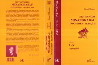 Couverture Dictionnaire minangkabau