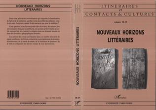 Couverture Nouveaux horizons littéraires (n°18-19)