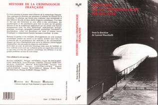 Couverture Histoire de la criminologie française