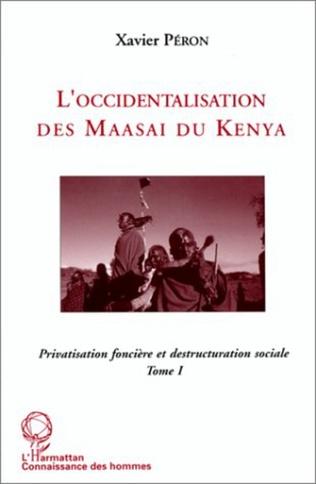 Couverture L'occidentalisation des Maasaï du Kenya