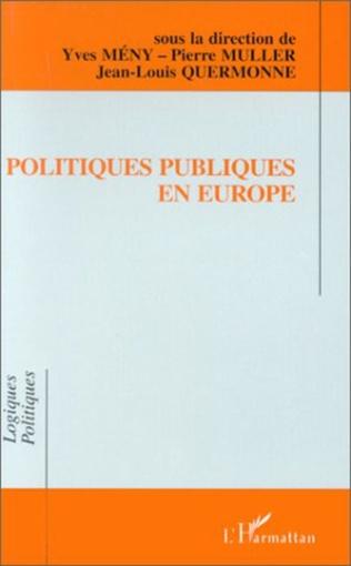 Couverture Politiques publiques en Europe