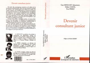 Couverture Devenir consultant junior