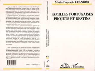 Couverture Familles portugaises, projets et destins