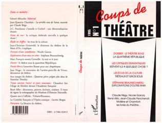 Couverture Le théâtre sous la quatrième république