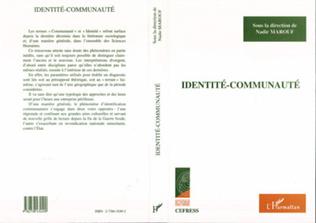 Couverture Identité-communauté