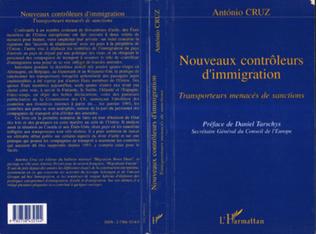 Couverture Nouveaux contrôleurs d'immigration