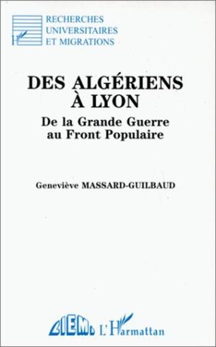 Couverture Des Algériens à Lyon