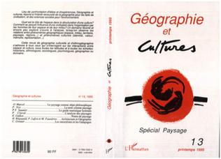 Couverture Géographie et cultures n°13