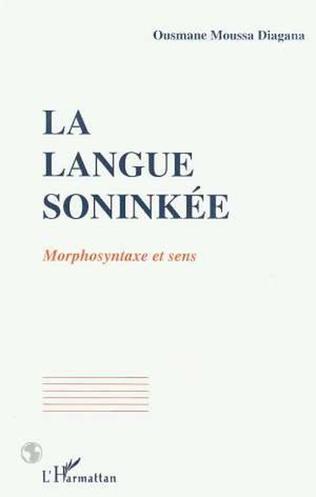 Couverture La langue soninké