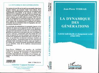 Couverture La dynamique des générations