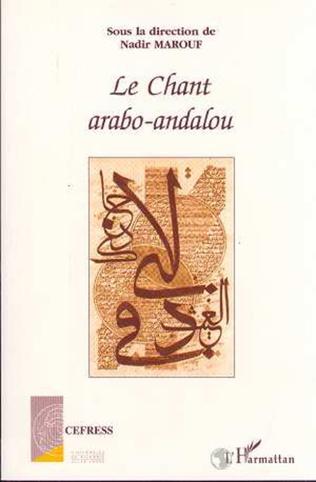 Couverture Le chant arabo-andalou