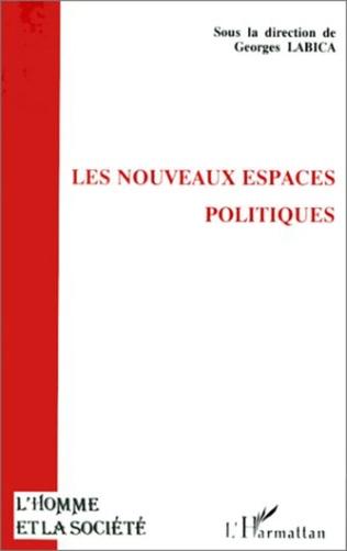 Couverture Les nouveaux espaces politiques