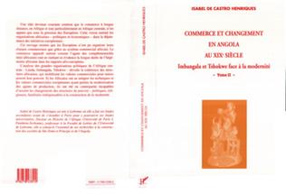 Couverture Commerce et changement en Angola au XIXe siècle