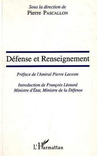 Couverture Défense et renseignement