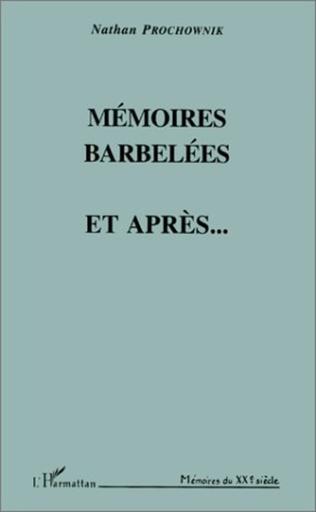 Couverture Mémoires barbelées