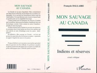 Couverture Mon sauvage au Canada