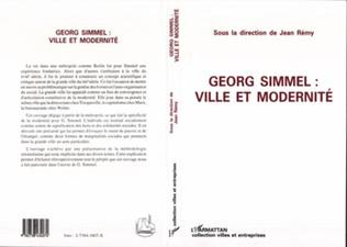Couverture Georg Simmel : ville et modernité