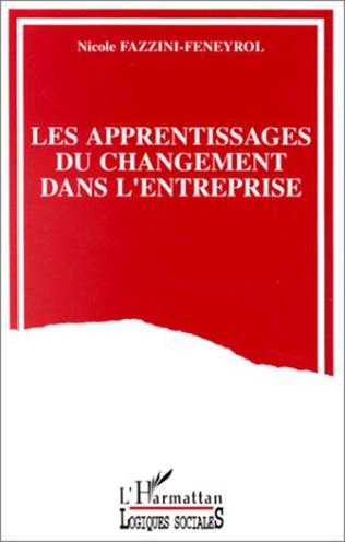 Couverture Les apprentissages du changement dans l'entreprise
