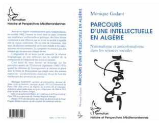 Couverture Parcours d'une intellectuelle en Algérie