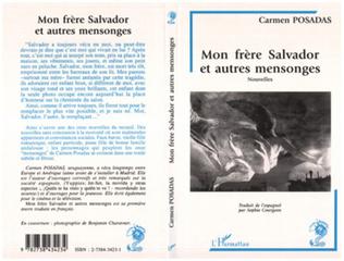 Couverture Mon frère Salvador et autres mensonges (Nouvelles)