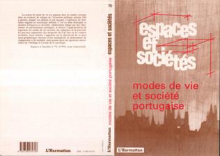 Couverture Modes de vie et société portugaise