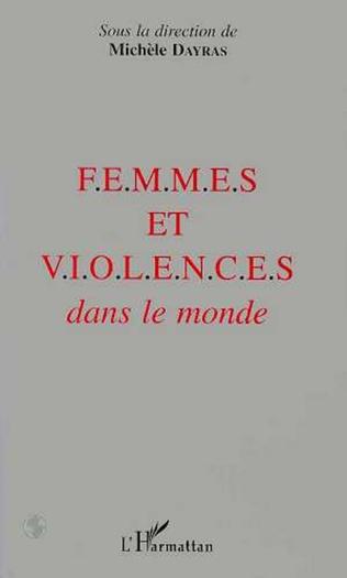 Couverture FEMMES ET VIOLENCES DANS LE MONDE