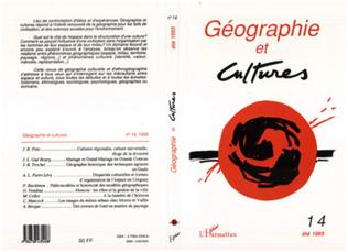 Couverture Géographie et cultures n°14