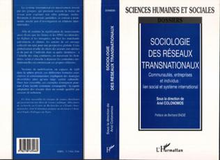Couverture Sociologie des réseaux transnationaux