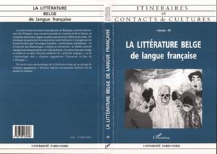 Couverture La littérature belge de langue française