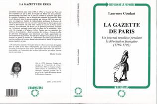 Couverture La gazette de Paris