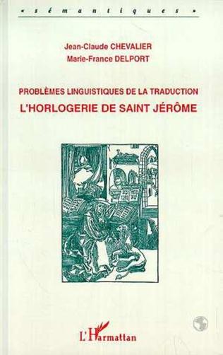 Couverture Problèmes linguistiques de la traduction