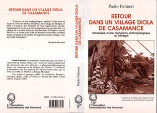 Couverture Retour dans un village Diola de Casamance