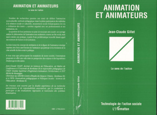 Couverture ANIMATION ET ANIMATEURS