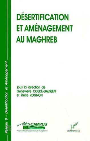 Couverture Désertification et aménagement au Maghreb