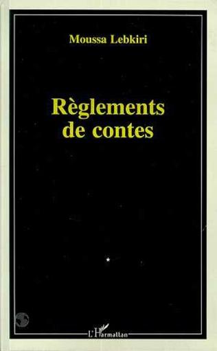 Couverture Règlements de contes