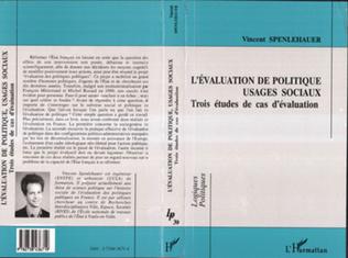 Couverture L'évaluation de politiques