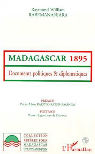 Couverture Madagascar 1895