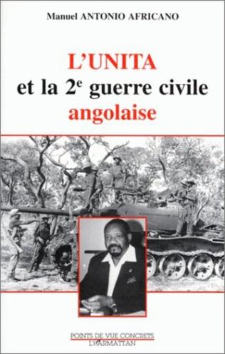 Couverture L'Unità et la deuxième guerre civile angolaise