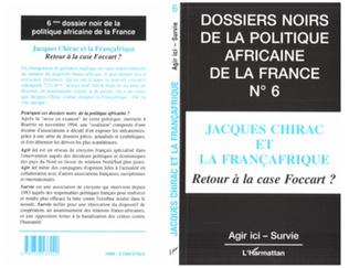 Couverture Jacques Chirac et la Françafrique
