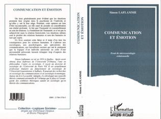 Couverture Communication et émotion