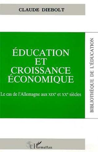 Couverture Education et croissance économique
