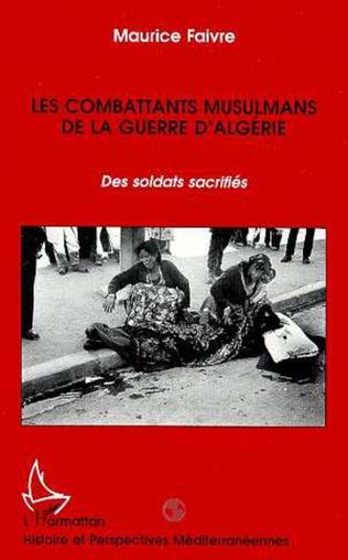 Couverture Les combattants musulmans de la guerre d'Algérie