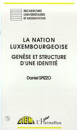 Couverture La nation luxembourgeoise