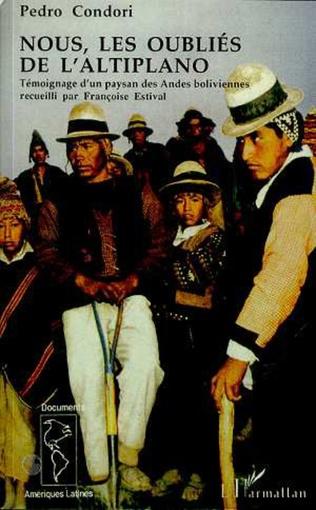 Couverture Nous, les oubliés de l'Altiplano