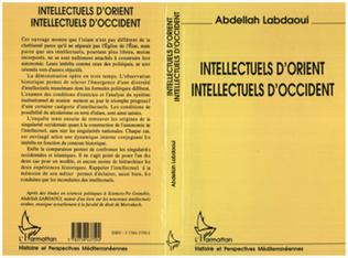 Couverture Intellectuels d'Orient, intellectuels d'Occident