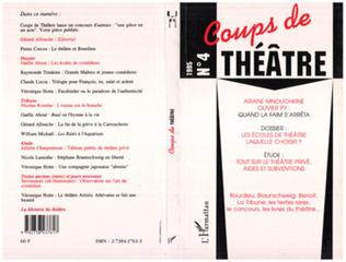 Couverture Coups de théâtre 4