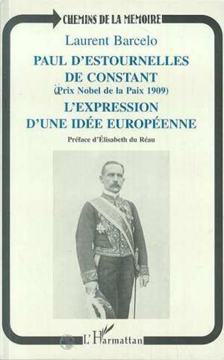Couverture Paul d'Estournelles de Constant (Prix Nobel de Paix 1909)