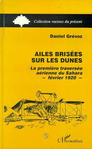 Couverture Ailes brisées sur les dunes