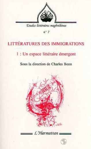 Couverture Littératures des immigrations
