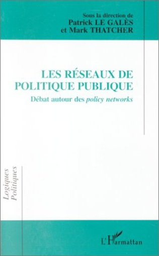 Couverture Les réseaux de politique publique